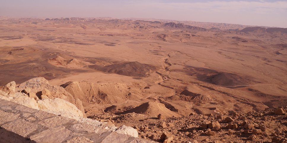 Mitzpe Ramon - Negev woestijn