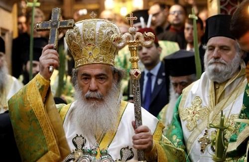 Grieks Ortohodxe processie
