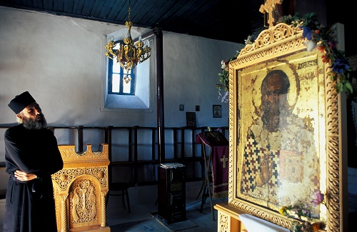 Priester icoon Grieks Pasen