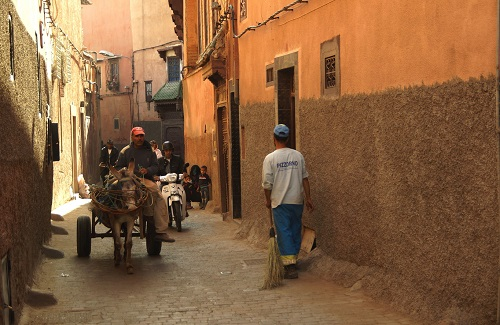 Steeg in Marrakesh