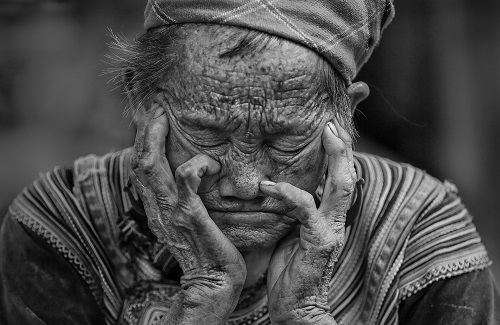 Old Woman, Vietnam
