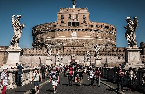 Brug Archite vlakbij Colosseum