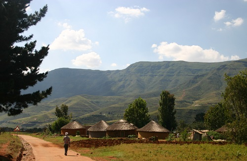 Dorp in Lesotho