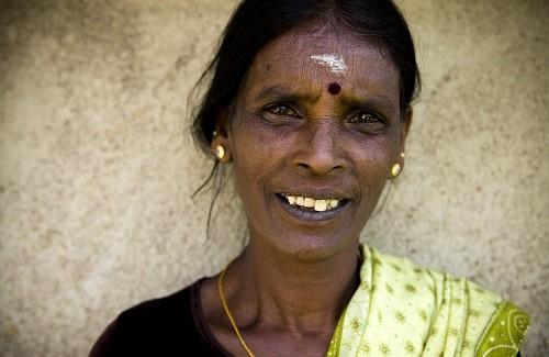 Sri Lankaanse vrouw