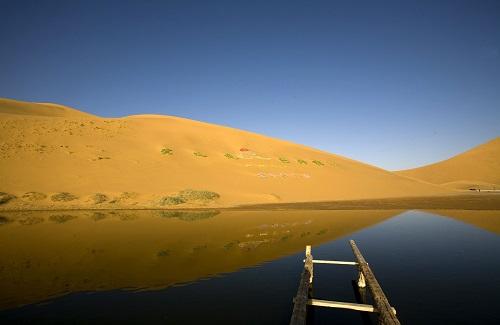 Badain Jaran woestijn