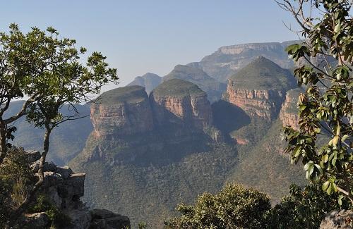 Drie Rondavels, panoramaroute, Zuid-Afrika