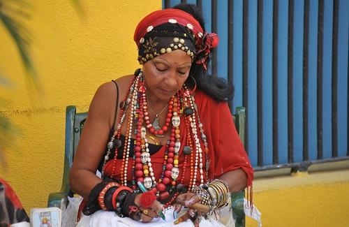 Waarzegster in Havana