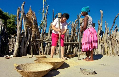 North Owamboland Village, Namibië