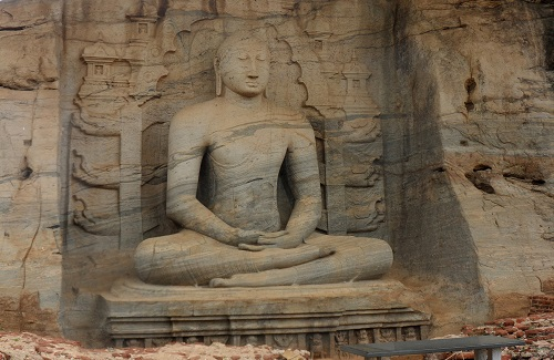 Polonnaruwa in Sri Lanka