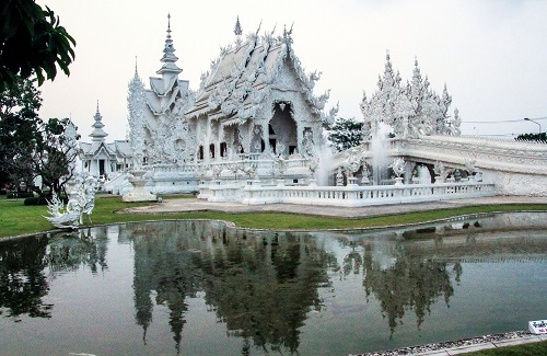 The white tempel in Chiang Rai