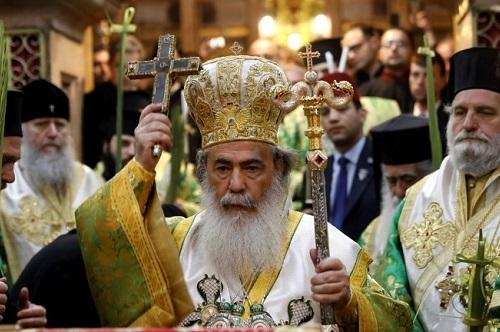 Mykonos Grieks Ortohodxe processie