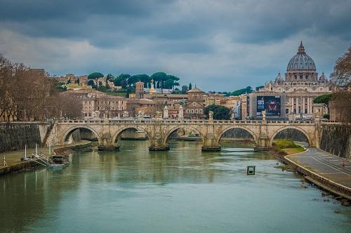 Vaticaan brug, Rome