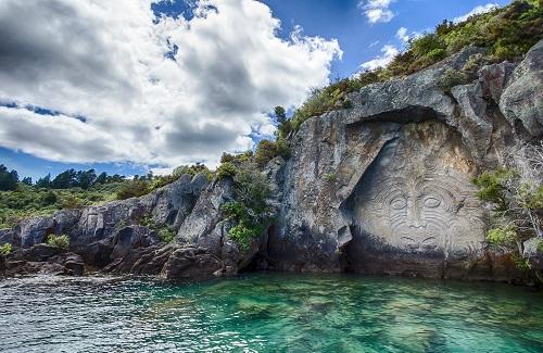 Te Ana Maori Rock Art