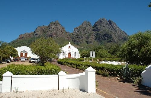 Stellenbosch Kaap Hollande huizen