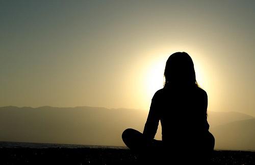 8. Zonsondergang - Spirituele reis