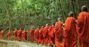 Monniken, Sri Lanka